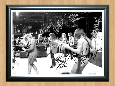 Heart Band Ann Nancy Wilson Signed Autographed A4 Photo Memorabilia concert cd