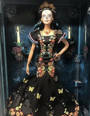 BARBIE Dia De Los Muertos Day of The Dead Mexican Doll IN HAND SHIPS NEXT DAY