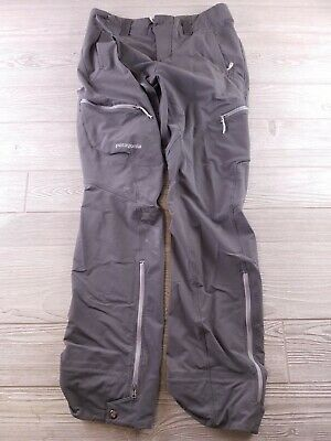 Patagonia Women's Hiking Nylon Stretch Pants Size 4 Gray Outdoors Camping   G212