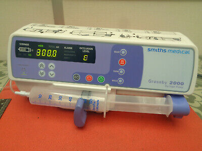 Smiths medical Graseby 2000 syringe infusion pump 240v S1055H6MX