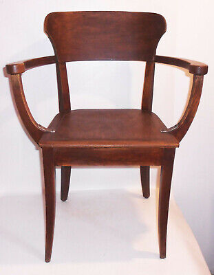 Alter Stuhl Chair Richard Riemerschmid Hellerau Sessel Armlehnstuhl Design !