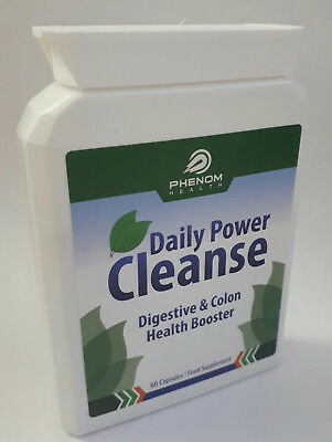 Daily Power Cleanse Health Booster - 60 Capsules - Brand New & Sealed