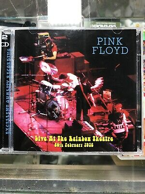 PINK FLOYD TOP GEAR 1972 Live at the Rainbow Theater 2 disc CD set