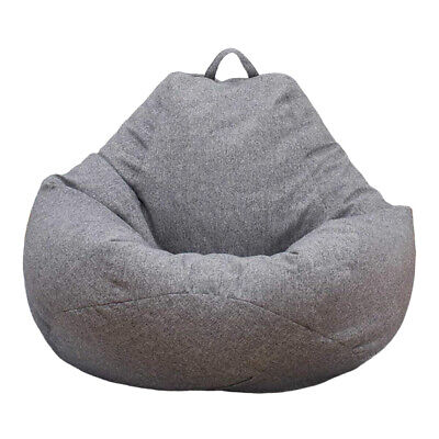 Large Bean Bag Chair Sofa Seat Cover Indoor/Outdoor Gamer Beanbag For Adult Kids