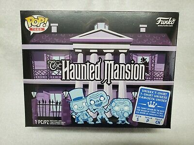 Funko Tees Haunted Mansion Limited Target Exclusive Shirt Size SMALL NEW 50TH