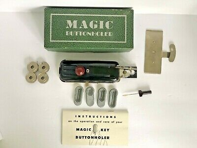 Vintage Rotary Magic BUTTONHOLER Sewing Machine Attachment