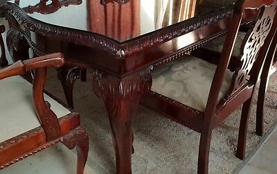 beautiful antiques dining table