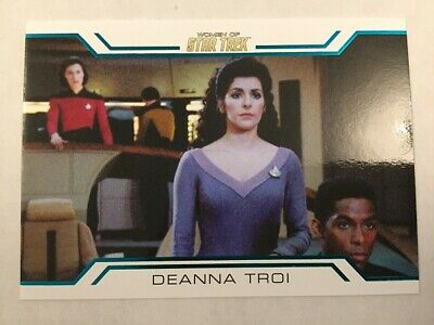 Star Trek Women Of 50th Anniversary Women In Command Chase Card WC7 7 of 9
