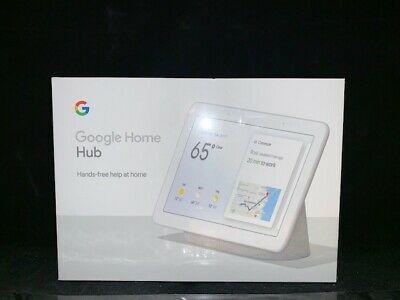 "google Home Hub with Voice-Activated Assistant - 7"" Smart Touchscreen"