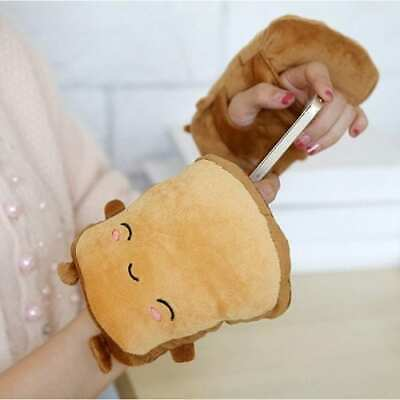 Toasty Buddies Electric Hand Warmers Winter Heating Warm Gloves Cute Bread Cart