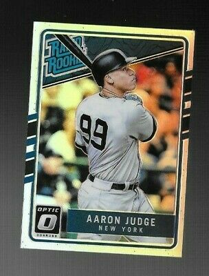 Aaron Judge 2017 Donruss Optic Rated Rookie Silver Holo Prizm