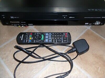 Panasonic DMR-EZ48V EBK Freeview dvd vcr player HDMI vhs to dvd transfer