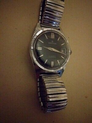 S Services Classic swiss watch Stainless Steel Shock protected kinetic powered