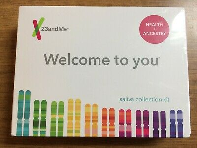Sealed and New 23andMe Personal Genetic Ancestry DNA Test Kit-Lab Fee Included