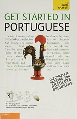 GET STARTED IN PORTUGUESE WITH TWO AUDIO CDS: A TEACH YOURSELF By Sue Mint