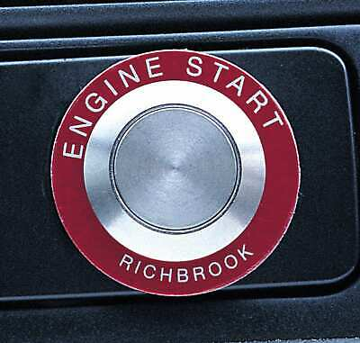 Engine Ignition Start Button Pro-Start Push Engine Starter , Button & Bezel Only