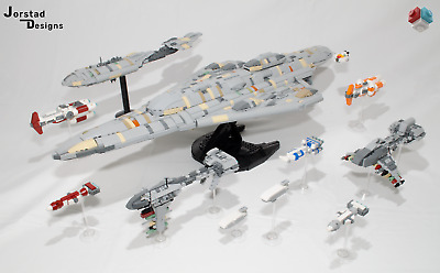 LEGO Star Wars UCS Rebel Support Craft MOC INSTRUCTIONS ONLY