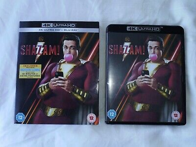 Shazam! 4k Ultra HD & blu ray (Region free)