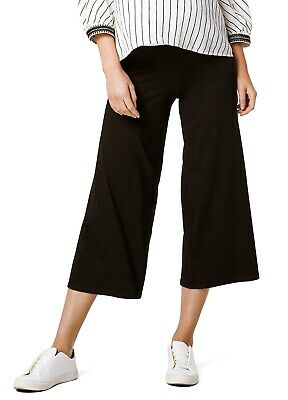 Queen mum - Jersey Maternity Pregnancy Cropped Jersey Pants, Culottes