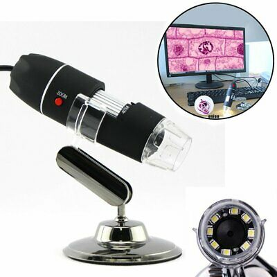 1000x 8 LED USB Digital Microscope Endoscope Magnifier Electronic Video Camera S