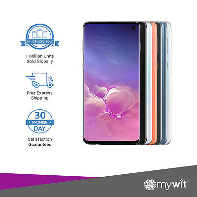 Samsung Galaxy S10 Plus  - 128GB 512GB Black White Blue Pink - Unlocked Device