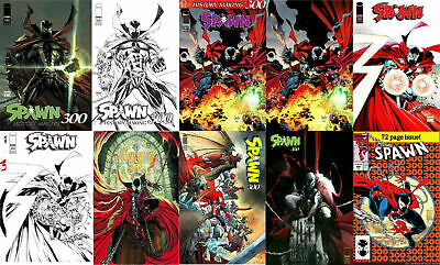 SPAWN 300 10 Variant Covers Comic Set Amazing Spiderman McFarlane 1st Appearance