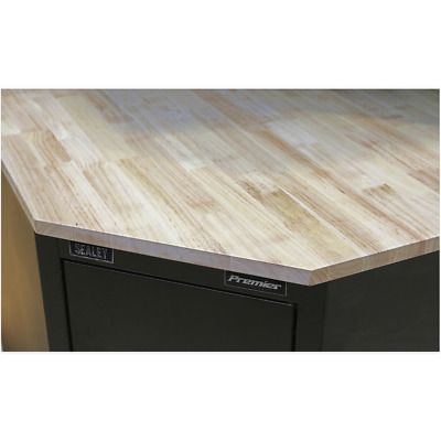 APMS18 Sealey Oak Corner Worktop 930mm [Tool Storage] [Storage & Workstations]