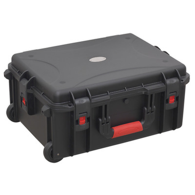 AP626 Sealey Professional Water Resistant Storage Case Extendable Handle 550mm