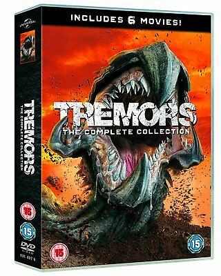 Tremors 1+2+3+4+5+6 A Cold Day in Hell Film Complete Collection (1990-2017) DVD