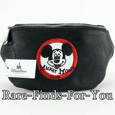 Disney Parks Mickey Mouse Club Mouseketeer Loungefly Hip Fanny Pack (NEW/TAGS)