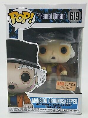 Funko Pop Disney Haunted Mansion Groundskeeper BoxLunch Exclusive NEW NSIB