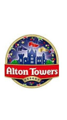 Alton towers etickets x 2 Sunday 22nd September