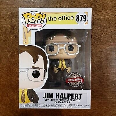 Funko Pop! Television The Office Jim Halpert as Dwight #879 Box Lunch Exclusive