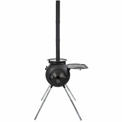 Ozpig Wood Burning Stove Outdoor Fire Grill Cooker Heater Portable Camping