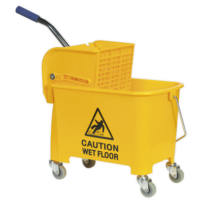 BM09 Sealey Tools Mop Bucket 20ltr [Janitorial] Water Container Buckets Mops
