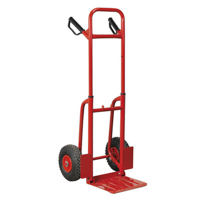 CST801 Sealey Sack Truck with Pneumatic Tyres 200kg Folding [Sack Trucks]