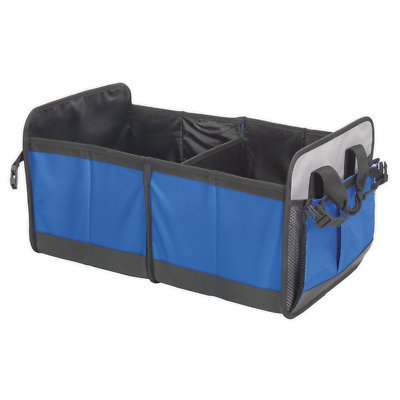 CBO1 Sealey Car Boot Organiser 4 Compartment [Vehicle Accessories] Storage Cases