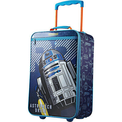 """American Tourister Star Wars 18"""" Rolling Upright Kids' Luggage NEW"""