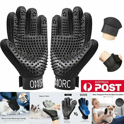 Pet Dog Cat Grooming Cleaning Magic Glove Hair For Dirt Remover Brush Massage SB