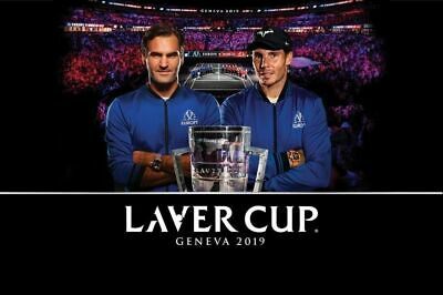 Laver Cup, Genf. Freitag 20.9., 2 Tickets Session 2 für total Fr. 100.00!