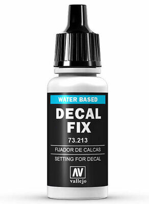Decal Fix fijador de calcas 17ml. Vallejo 73.213