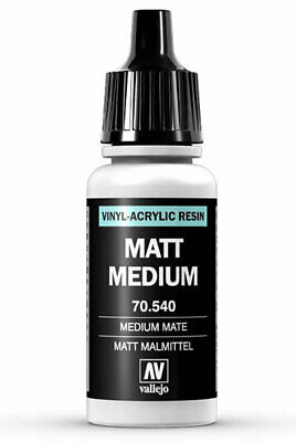 Matt Medium Medium Mate 17ml. Vallejo 70.540