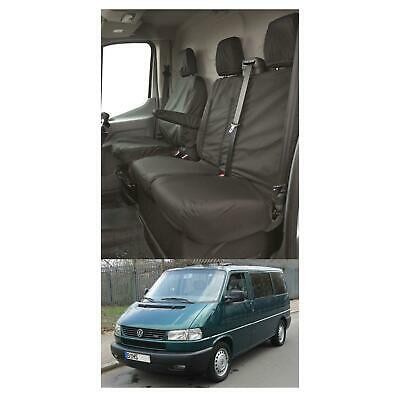 WATERPROOF FULLY TAILORED HEAVY DUTY SEAT COVERS Fits VW TRANSPORTER T5 & T6