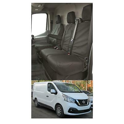 WATERPROOF FULLY TAILORED EXTRA HEAVY DUTY VAN SEAT COVERS Fits NISSAN NV300