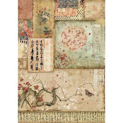 Rice Paper - Decoupage - Stamperia - 1 x A4 Size Sheet - Branches