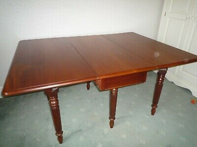 Antique Solid Mahogany Dining Table Early Victorian