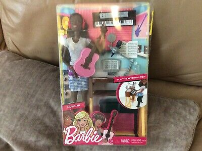 Barbie You Can Be Anything Musician Doll Free Postage