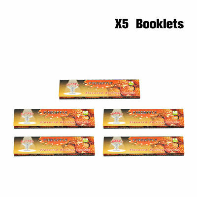 5 pcs HORNET 110MM PINEAPPLE Flavored Cigarette Tobacco Rolling Papers King Size