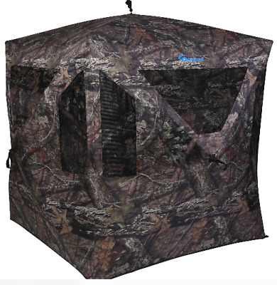 Camouflage Deer Hunting Blind Cover Durable Weather-Proof Mossy Oak New