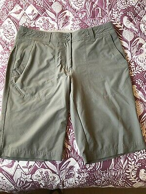 Rohan Ladies Crossover Shorts Size 10 With Dynamic Moisture Control
